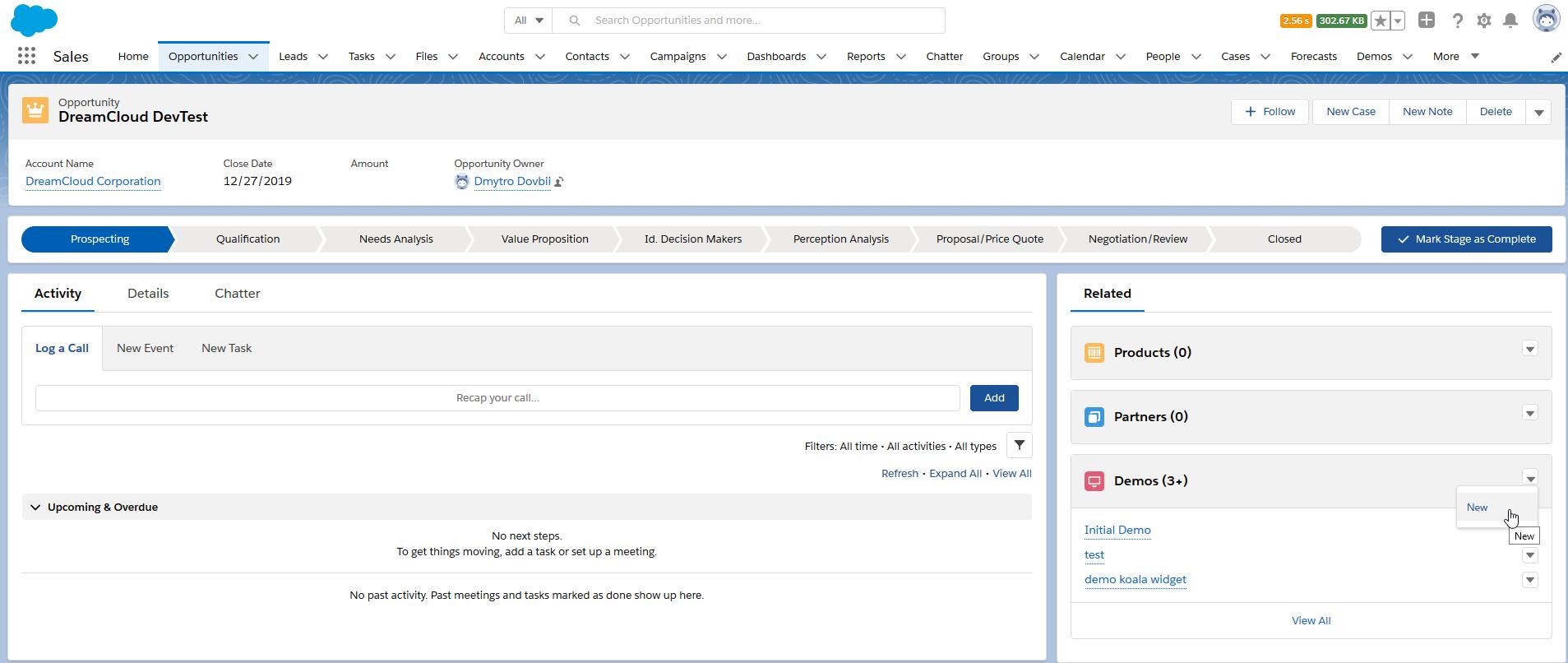 2020-03-13 16_12_07-DreamCloud DevTest _ Salesforce